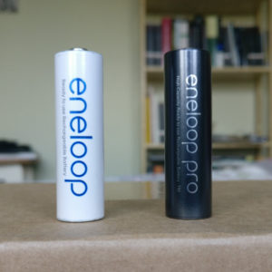 eneloops, battery of the future, today!